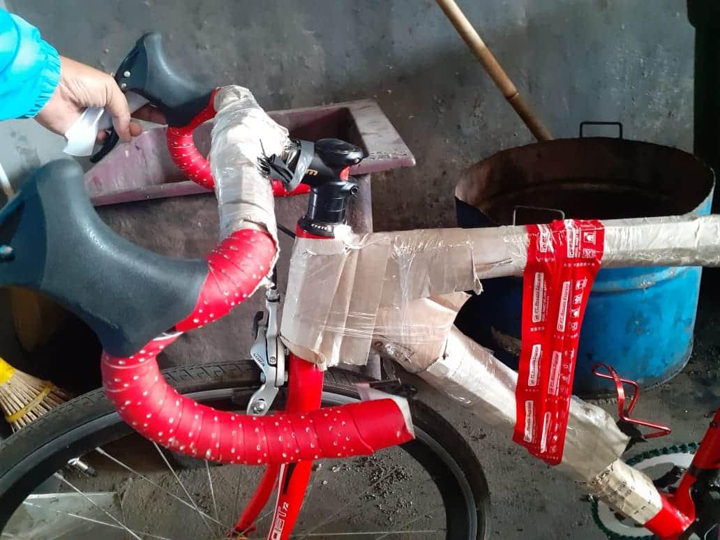 pengiriman sepeda rosalia express